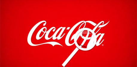 Coca Cola Logosundaki Danimarka Bayrağı